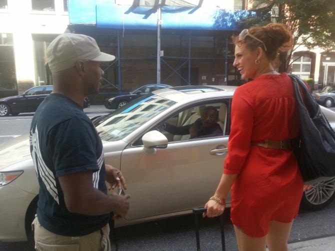 Directing w/ star, Christina McCasty