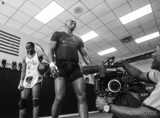 ME filming Wayne Barret- by Anthony Geathers - ABG Photography