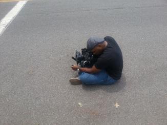Street shooting. Literally.
